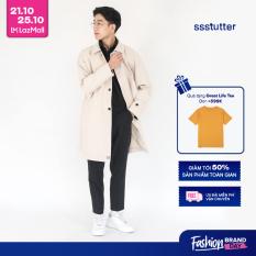 SSSTUTTER Áo Măng Tô Nam Win Coat 2020