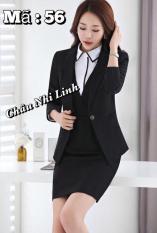Bộ vest áo váy mẫu 56