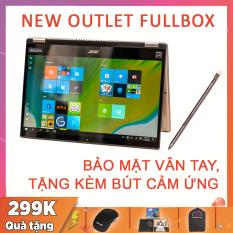(NEW OUTLET FULLBOX) Acer Spin 3 2020 (SP314-54N) Kèm Bút Cảm Ứng, Win 10 Bản Quyền, i5-1035G1, RAM 8G, SSD NVMe 256G, VGA Intel UHD G1, màn 14 FullHD IPS, sáng 300 nits