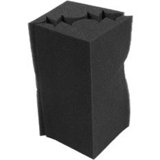 4 pcs Corner Bass Trap Acoustic Panel Studio Sound Absorption Foam 12*12*24cm