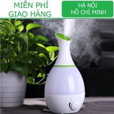 Máy phun sương tạo ẩm loại LỚN (18/21 x Cao 30cm)/ Xông tinh dầu/ Làm mát phòng KamiHome vận chuyển