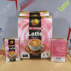 CÀ PHÊ LATTE – AIK CHEONG – MALAYSIA – CAFE ART – 12 Gói * 25g