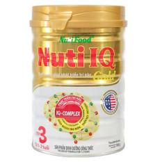 Sữa Bột Nuti IQ Gold Step 3 900g (cho trẻ 1-2 tuổi) – HSD luôn mới