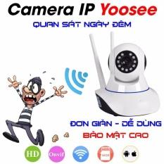 Camera giám sát qua điện thoại 3 ăng ten 3.0MP FHD 1296P siêu nét