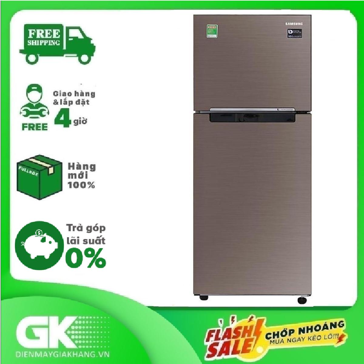 Tủ lạnh Samsung RT22M4040DX/SV Inverter 236 lít.