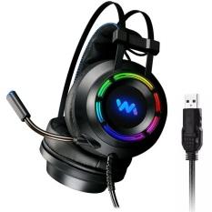 [RẺ VÔ ĐỊCH] Tai Nghe Chuyên Game Wangming 9800 7.1 USB LED RGB Siêu Đẹp Âm Siêu Hay Tai nghe tai nghe gaming tai nghe chụp tai Tai Nghe Game Thủ Wangming 9800S (7.1 Virtual Surround Sound) Chơi PUBG LOL-3HCOMPUTER