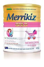Sữa bột Merrikiz gold newborn 900g (từ 0 đến 12 tháng)
