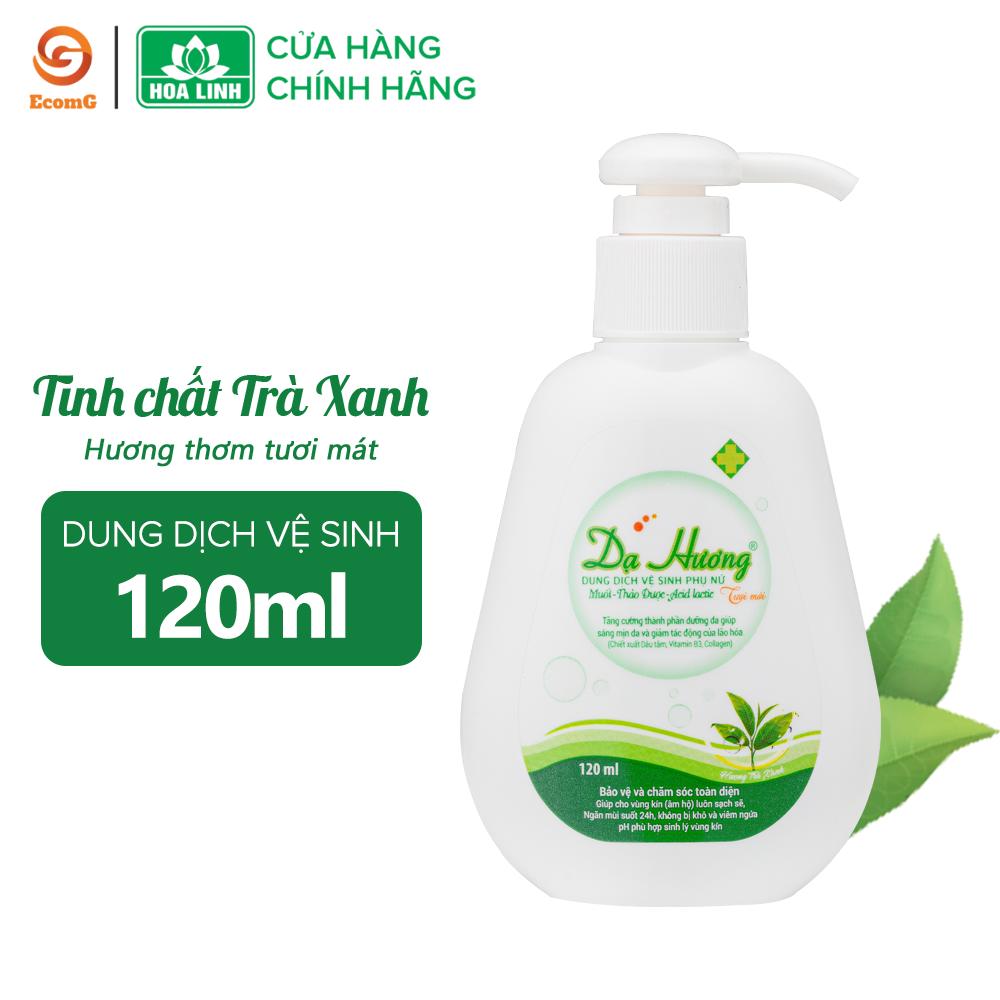 Dung dịch vệ sinh phụ nữ dạng gel Dạ Hương trà xanh cá tính 120ml- DH5-01