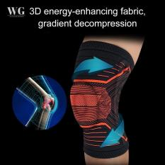 [Loại tốt] Đai bảo vệ đầu gối silicon có nẹp trợ lực – 1pcs
