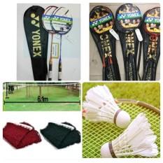 Trọn bộ vợt cầu lông Yonex cao cấp + lưới và 2 quả cầu
