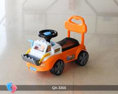 Chòi chân cho bé mô hình xe ủi đất BABY PLAZA QX-3355