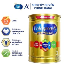 [Mẫu mới] Sữa Enfagrow A+ 3 DHA + MFGM Pro 1,75kg (1 – 3 tuổi)