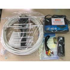 Đầu thu kỹ thuật số mặt đất VTC T201 Tặng kèm anten và dây 15m.