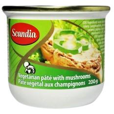 Pate chay nấm Scandia nhập khẩu Canada hộp 200gr