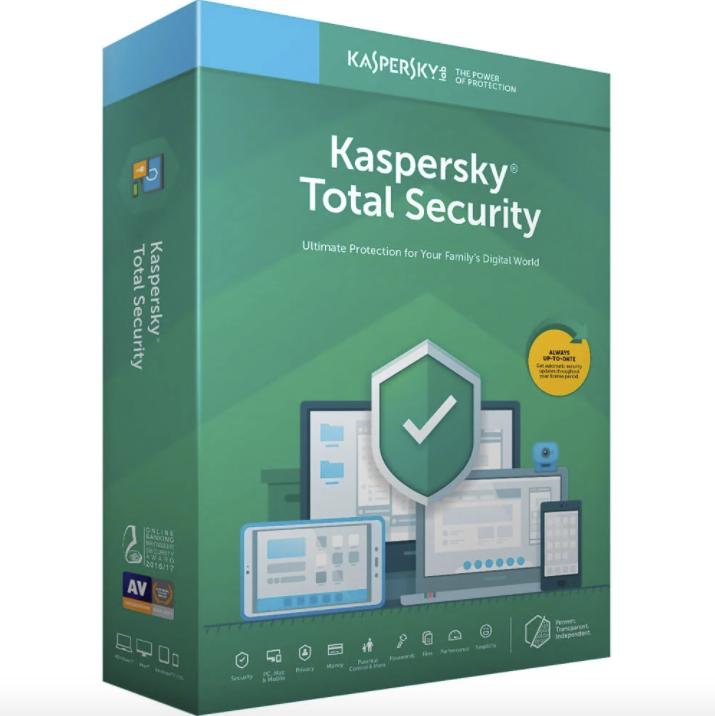 PHẦN MỀM KASPERSKY TOTAL SECURITY – 01 PC – 01 Năm