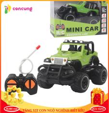 Xe Jeep điều khiển từ xa vượt địa hình thiết kế đẹp dành cho bé
