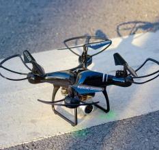 FLYCAM S609 màu đen có camera bay hơn 20 phút, máy bay điều khiển từ xa
