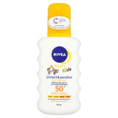 Xịt chống nắng cho bé NIVEA SUN Kids Schutz SPF50+ 200ml- Đức