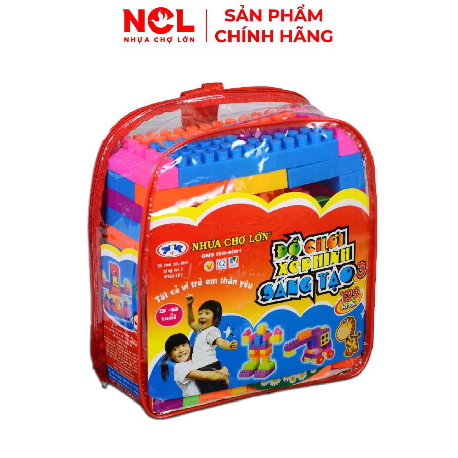 Đồ chơi xếp hình trẻ em Nhựa Chợ Lớn 03