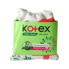 [HÀNG TẶNG KHÔNG BÁN] Kotex Gift Box Thảo dược 4 miếng