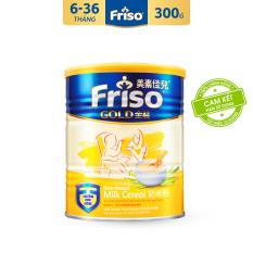 [Freeship toàn quốc] Bột ăn dặm sữa Friso Gold 300g – Ăn Dặm Dễ Dàng, Hỗ Trợ Tiêu Hóa – Tặng 2 gói tã Pampers M4 và L4