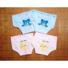 Combo 5 tã dán bỉm baby leo in họa tiết cho bé sơ sinh được làm từ chất liệu vải cotton mềm mại êm ái an toàn cho làn da nhạy cảm của bé