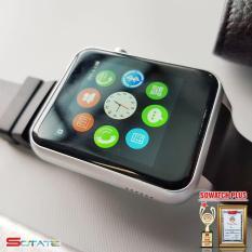 [2018] Đồng hồ thông minh cao cấp Smartwatch GT88 (Đen phối bạc)