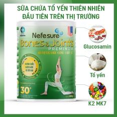 Sữa bột Nefesure Bones&Joints Preminum 800gr dưỡng chất cho xương và khớp dành cho người lớn phòng ngừa đau xương khớp, viêm khớp, đặc biệt là người bệnh xương và khớp