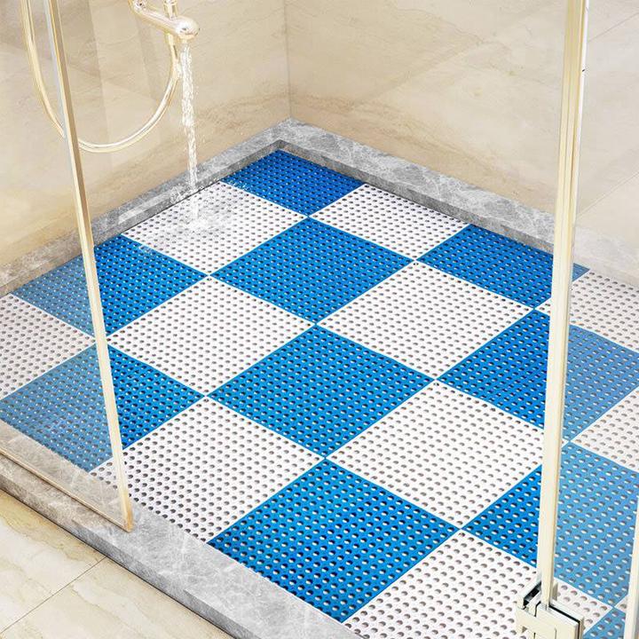 [FREE SHIP ] Tấm lót sàn,thảm nhựa lỗ kháng khuẩn,chống trơn,trượt kt30*30 cm sạch sẽ,thoáng mát,êm chân,an toàn cho trẻ