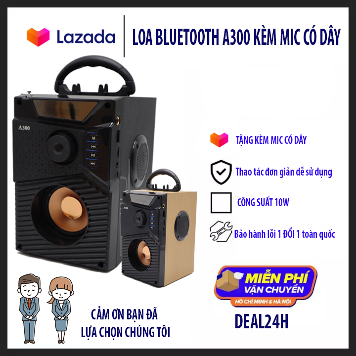 Loa Công Suất Lớn Cao Cấp TẶNG KÈM MIC – bluetooth speaker loud – Loa siêu BASS sony cũng không hay bằng – Bộ Xử Lý Âm Thanh Hiện Đại, Âm Bass Trầm Ấm, Công Nghệ Bluetooth 4.1 Cao Cấp – Chất Lượng Như Loa Bluetooth Sony