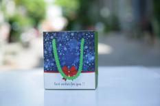 50 cái – Túi giấy mini đựng son môi mỹ phẩm nhỏ quà tặng quà cưới phụ kiện