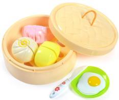 Đồ chơi nhà bếp bộ hấp bánh bữa ăn sáng (1 xửng)