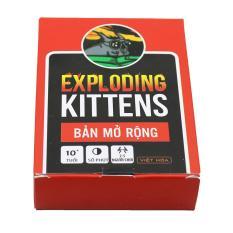 Combo Mèo Nổ 4 Bản Mở Rộng Exploding Kittens Expansion