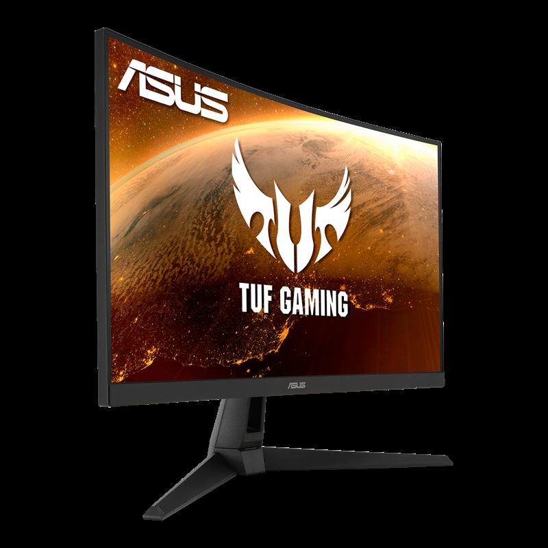 """Màn hình LCD 27"""" Cong Asus VG27VH1B TUF Gaming FHD VA 165Hz 1ms – Hàng Chính Hãng"""
