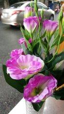 1 bụi Hoa cát tường giả 12 nhánh – Hoa giả – Hương Flower