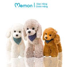 Chó Cừu bông quàng khăn chân hạt 35cm-45cm cao cấp Memon