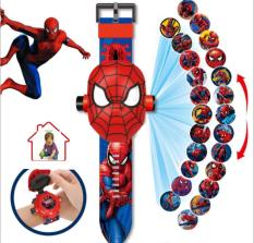 đồ chơi đồng hồ người nhện chiếu hình ảnh lên tường ( cho bé) cam kết giao đúng sp