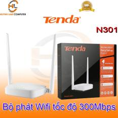 Bộ phát WiFi Tenda N301 tốc độ cao chuẩn N 300Mpbs – Microsun Phân Phối