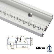 Thanh ray trượt bàn cưa( 60, 80, 122 cm) in thước đo