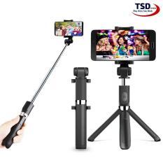 Gậy Tripod 3 Chân Akus Selfie Stick ( Kết nối bằng bluetooth)