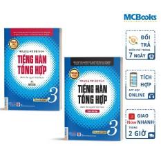 Combo Tiếng Hàn Tổng Hợp Dành Cho Người Việt Nam Trung cấp 3 Bản 4 Màu