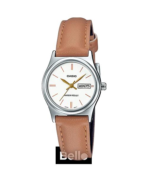 Đồng hồ Casio Nữ LTP-V006L-7B2UDF chính hãng giá rẻ – Bảo hành 1 năm – Pin trọn đời