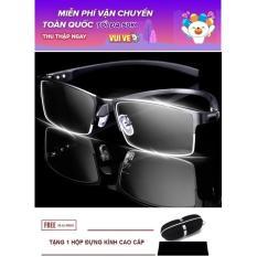 Gọng kính cận dẻo nam nữ khung Aluminium thời trang cao cấp LE17A