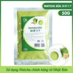 Bột trà xanh sữa thơm ngon, Light Tea , đặc biệt sử dụng matcha chính hãng Nhật Bản, không hương liệu , gói 50g