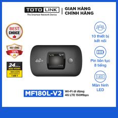 TOTOLINK – MF180L-V2 – Wi-Fi di động 4G LTE 150Mbps