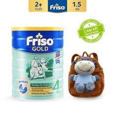 [Freeship toàn quốc] Sữa bột Friso Gold 4 1.5kg cho trẻ từ 2-4 tuổi + Tặng Ba lô hình thú trị giá 350k – HSD 10/2022
