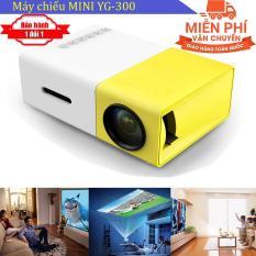 Máy chiếu Mini cho điện thoại YG-300 hỗ trợ độ phân giải lên đến 1920 x 1080 pixel