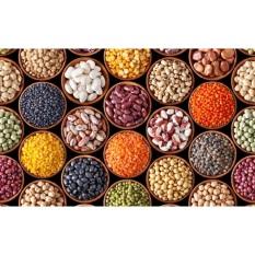Đậu, Hạt, bột HỮU CƠ: Bột Bắp, Bột Mì, Bột Năng ngũ cốc, cho bé ăn dặm, nguyên liệu làm bánh