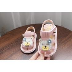 Giày tập đi cho bé giày hình gấu
