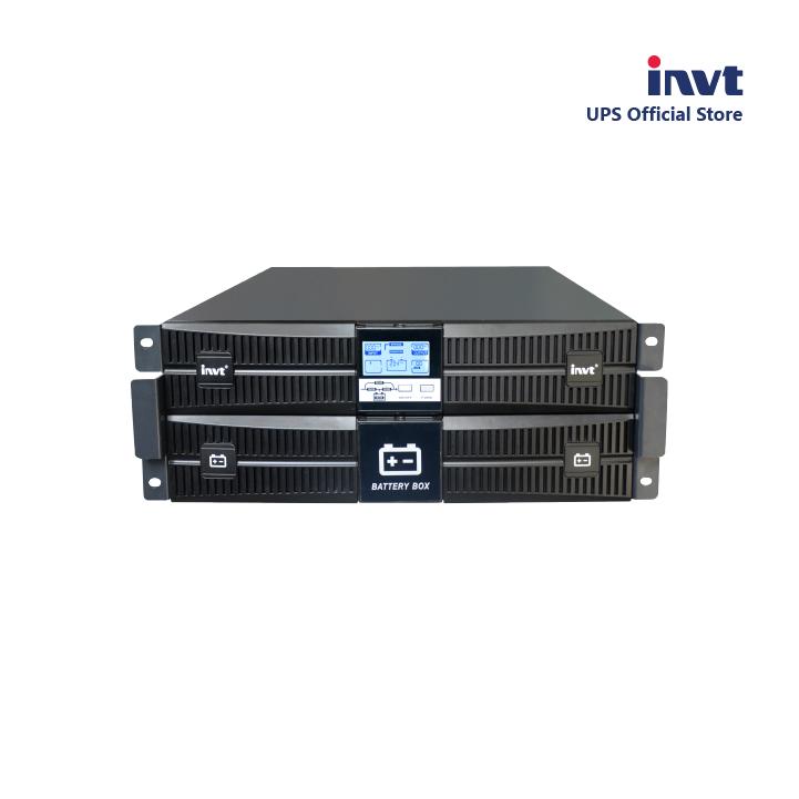 Bộ lưu điện UPS HR1110XS 10kVA 220V/230V/240V (đã tích hợp ắc quy) của thương hiệu INVT